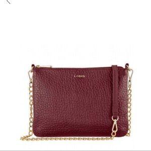 LODIS Emily leather crossbody bag